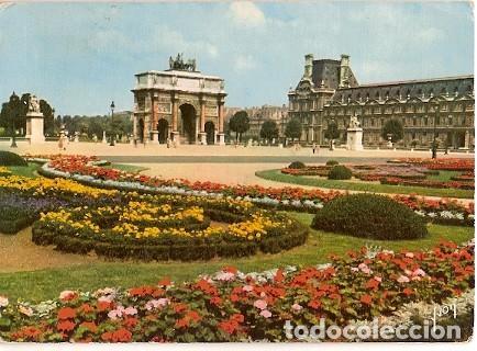 francia circuladojardn de las tulleras y e Comprar Postales