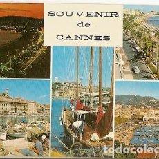 Postales: FRANCIA & CIRCULADO, RECUERDO DE CANNES, CAISSE NATIONAL EPARGNE, LISBOA PORTUGAL 1973 (218. Lote 109485435