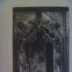 Postales: POSTAL DE BATALHA ( PORTUGAL ) : ARCO PRINCIPAL E ENTRADA DAS CAPELAS . AÑOS 40. Lote 109488731