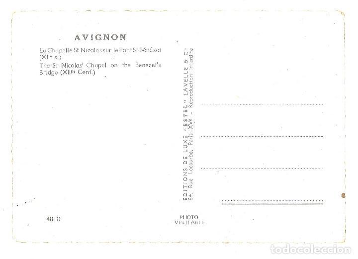 Postales: Avignon. Francia. La chapelle St Nicolas - Foto 2 - 110755051