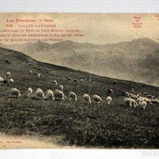 Postales: ANTIGUA POSTAL DE ANDORRA. PENDIENTE OCCIDENTAL DEL PUERTO DE FRAY MIQUEL. SIN CIRCULAR. Lote 111333839
