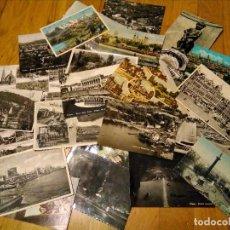 Postales: LOTE POSTALES CIRCULADAS AÑOS 50. Lote 111366167