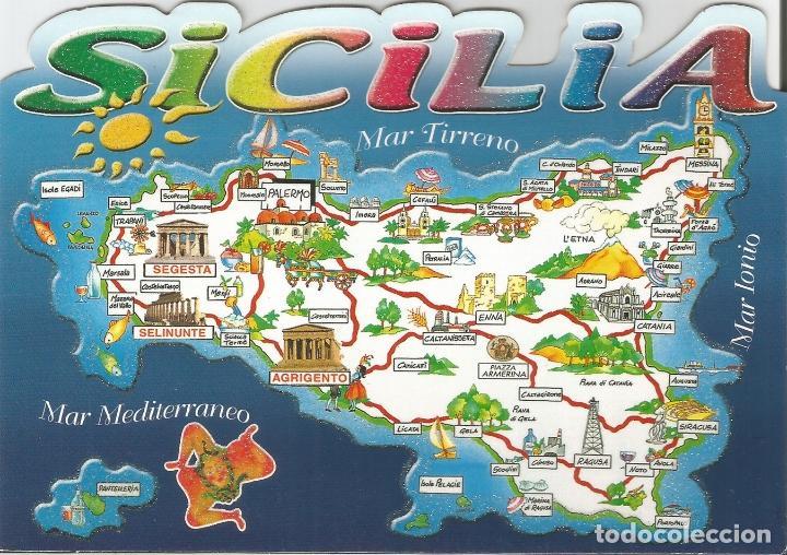 Mapa De Sicilia Italia.Italia Mapa De Sicilia Parisi Antonino 511 Glf S C