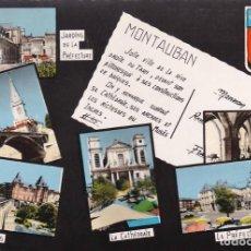 Postales: FRANCIA MONTAUBAN VISTAS VARIAS 1965 POSTAL CIRCULADA. Lote 111680175