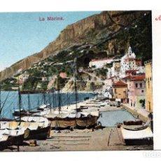 Postales: AMALFI, SALERNO, ITALIA - LA MARINA. Lote 172927804