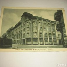 Postales: ZURICH , CITY-EXCELSIOR HOTEL , RESTAURANT SCHWEIZ. Lote 111997159