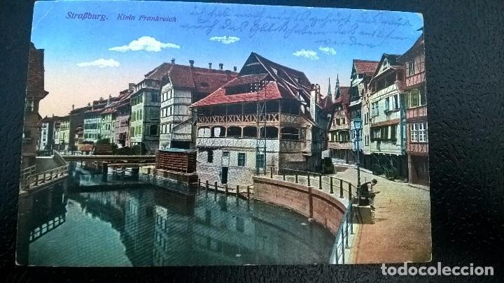 POSTAL ESCRITA STRASSBURGO 1916 (Postales - Postales Extranjero - Europa)