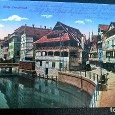 Postales: POSTAL ESCRITA STRASSBURGO 1916. Lote 112109147