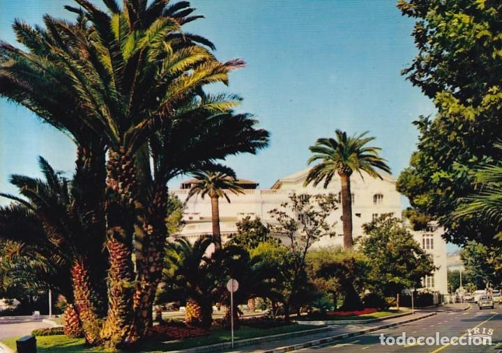 FRANCIA CANNES CASINO MUNICIPAL 1972 POSTAL CIRCULADA (Postales - Postales Extranjero - Europa)