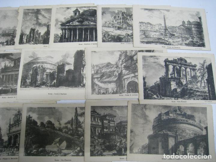 Postales: ITALIA. ITALY. ROMA. ROME. LOTE 38 POSTALES. POSTCARDS. CARTOLINA POSTALE. ILUSTRADAS. - Foto 3 - 112326531
