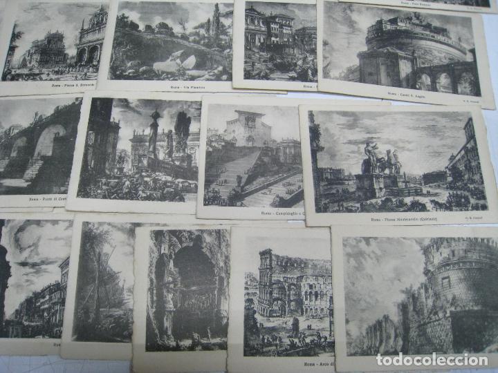 Postales: ITALIA. ITALY. ROMA. ROME. LOTE 38 POSTALES. POSTCARDS. CARTOLINA POSTALE. ILUSTRADAS. - Foto 4 - 112326531