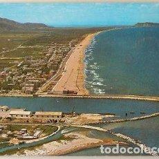 Postales: ESPAÑA & CIRCULADO, RECUERDO DE GANDIA, PLAYA E PUERTO, MIGENNES FRANCIA 1973 (62). Lote 112433211