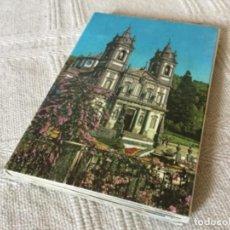 Postales: LIBRETO DE FOTO POSTALES DE BRAGA PORTUGAL. BOM JESÚS DO MONTE. Lote 112636727
