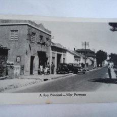 Postales: POSTAL FOTOGRAFICA PORTUGAL A RUA PRINCIPAL VILAR FORMOSO. FERRANIA - SIN CIRCULAR. Lote 112645315