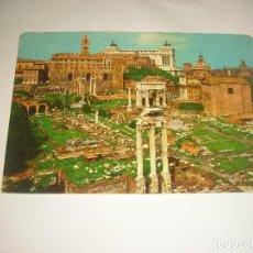 Postales: ROMA . FORO ROMANO, CIRCULADA. Lote 112655403