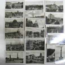 Postales: ALEMANIA. GERMANY. DEUTSCHLAND. BERLIN. LOTE 18 FOTOGRAFIAS. PHOTROGRAPHS. Lote 112880363