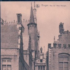 Postkarten - POSTAL BELGICA - BRUGES - RUE DE L'ANE AVEUGLE - NELS - 113152695