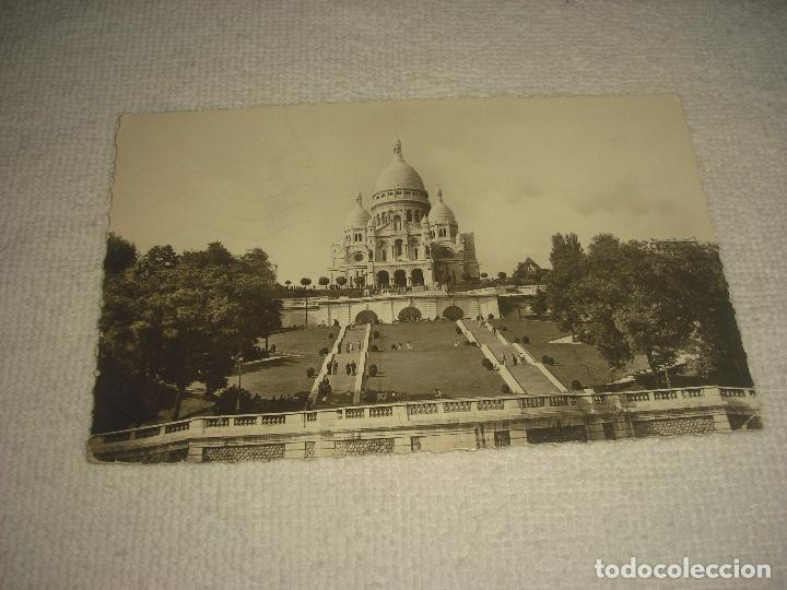 PARIS , BASILIQUE DU SACRE COEUR, CIRCULADA (Postales - Postales Extranjero - Europa)