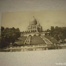 Postales: PARIS , BASILIQUE DU SACRE COEUR, CIRCULADA. Lote 113827543