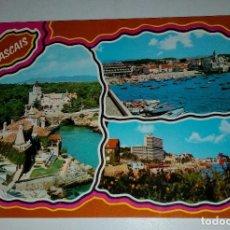 Postales: PORTUGAL,CASCAIS,VARIOS ASPECTOS. Lote 114396099