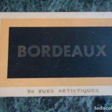 Postales: CARTERILLA CN 19 DE POSTALES DE BURDEOS AÑOS 30/40. Lote 114502887