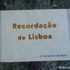 Postales: POSTALES ANTIGUAS DE LISBOA. RECUERDO. SERIE DE 10 POSTALES. Lote 114503511