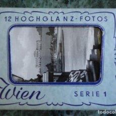 Postales: CARTERILLA CON 10 POSTALES DE VIENA. AÑOS 30/40 SERIE 1. Lote 114503699