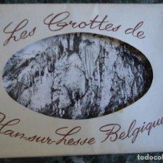 Postales: 10 POSTALES DE BÉLGICA SERIE COMPLETA GROTTES DE HAN-SUR-LESSE. Lote 114503967