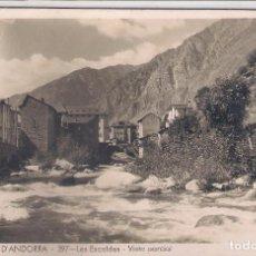 Postales: POSTAL VALLS D'ANDORRA , LES ESCALDES- VISTA PARCIAL .. Lote 114573463