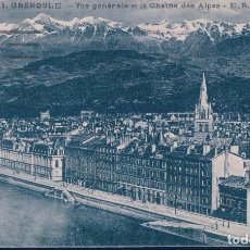 Postales - POSTAL GRENOBLE - VUE GENERALE ET LA CHAINE DES ALPES - ER - FRANCIA - 114975855
