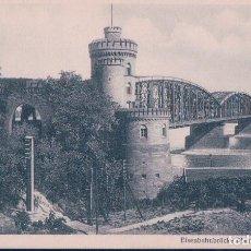 Postales: POSTAL MAINZ - EISENBAHNBRUCKE UBER DEN RHEIN - ALEMANIA. Lote 114995815