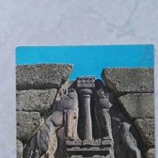 Postales: ANTIGUA POSTAL MYCENAS PUERTA DE LOS LEONES. Lote 115496132