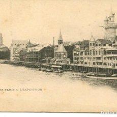 Postales: PARIS- EXPOSITION UNIVERSELLE 1900--LE VIEUX PARIS A ´'EXPOSITION. Lote 115589423