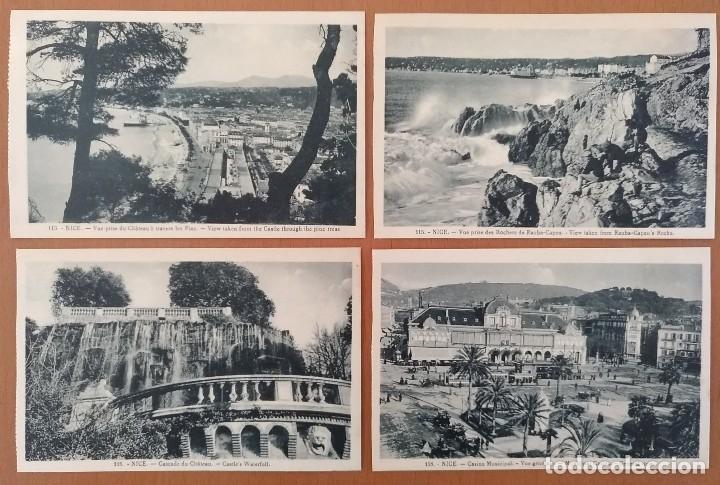 Postales: LOTE 8 POSTALES NIZA (NICE) FRANCIA AÑOS 20 SIN CIRCULAR 14 X 9 CM (APROX) - Foto 3 - 115811719