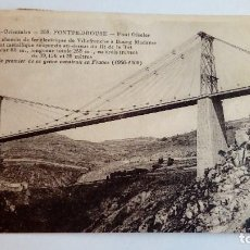 Postales: POSTAL ANTIGUA FONTPEDROUSE PONT GISELAR PYR. OR 1931. Lote 116115531