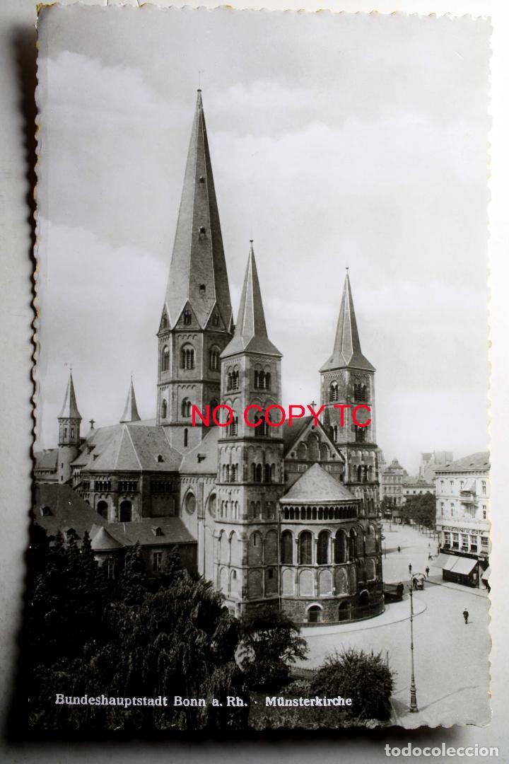 BUNDESHAUPTSTADT BONN A RH. MÜNSTERKIRCHE (Postales - Postales Extranjero - Europa)