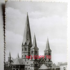 Postales: BUNDESHAUPTSTADT BONN A RH. MÜNSTERKIRCHE. Lote 116288267