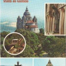 Postales: VIANA DO CASTELO ASPECTOS DO MONTE DE SANTA LUZIA .PORTUGAL. Lote 116361071