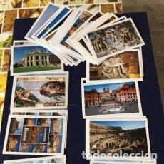 Postales: LOTE DE 25 POSTALES DE ROMA Y VATICANO. Lote 116597763