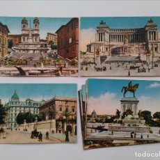 Postales: LOTE 15 POSTALES MONUMENTOS DE ROMA ITALIA. Lote 116659515