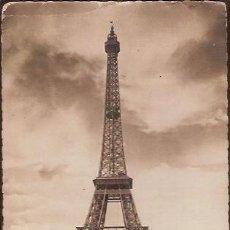 Postales: ANTIGUA POSTAL PARIS EN FLANANT LA TOUR EIFFEL ESCRITA. Lote 116680299