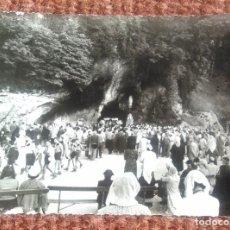 Postales: LOURDES - LA GRUTA MIRACULOSA. Lote 116741671