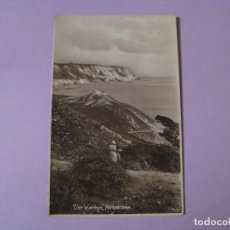 Postales: POSTAL DE REINO UNIDO. THE WARREN. FOLKESTONE. CIRCULADA. . Lote 116964135
