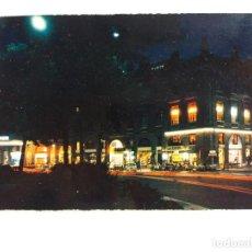 Postales: POSTALES POSTAL 1969 FRANCIA TOULOUSE LA NUIT PLACE WILSON CAFÉS ET HÔTELS. Lote 117730307