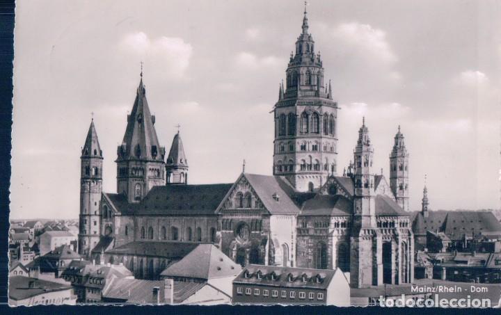 POSTAL MAINZ RHEIN - DOM - ALEMANIA (Postales - Postales Extranjero - Europa)