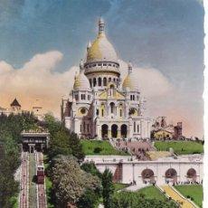 Postales: FRANCIA PARIS BASILICA DEL SACRE COEUR POSTAL NO CIRCULADA. Lote 118256091