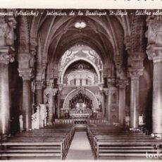 Postales: FRANCIA LA LOUVESC BASILICA ST. REGIS 1936 POSTAL CIRCULADA. Lote 118562231