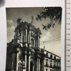 Postales: POSTAL. SIRACUSA. CATTEDRALE. VERA FOTOGRAFÍA. H. 1960?. Lote 118950883