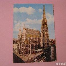 Postales: POSTAL DE AUSTRIA. VIENA. STEPHANSDOM. CIRCULADA 1972.. Lote 118953103