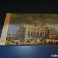 Postales: POSTAL SIN CIRCULAR - MILAN - PLAZA DUOMO - EDITA BANCA CESARE. Lote 118961595